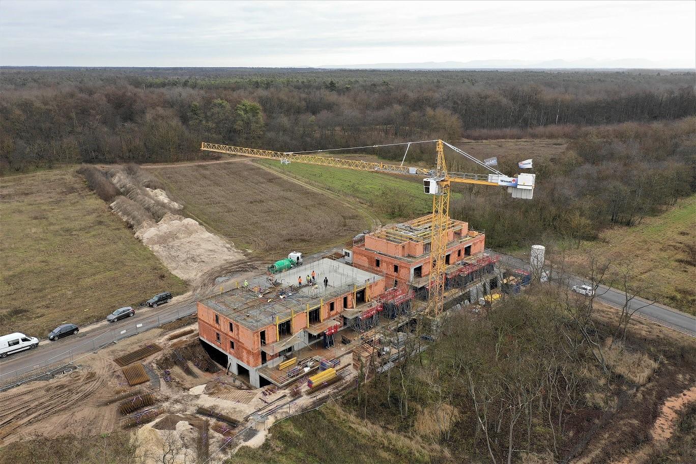 Photo de l'avancement des travaux à Oberhoffen | Bas Rhin - Alcys Réalisations